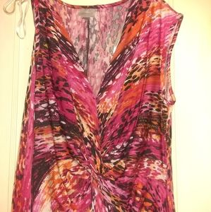 Avenue 18/20 Multi colored Maxi Dress